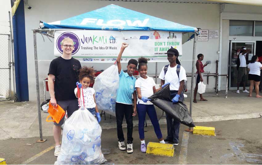 Image: Volunteers at one of the Pop-Up Depots held in September.