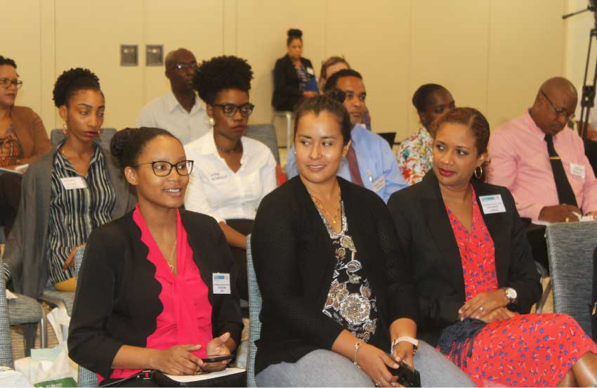 Image: Some of the attendees at the UNDP J-CCCP event.