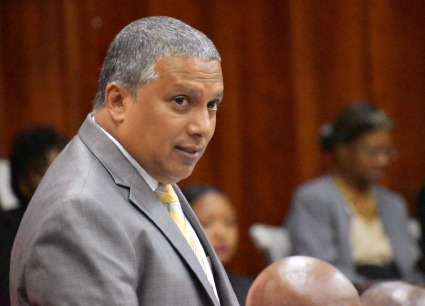 Image of Minister for Economic Development Guy Joseph.