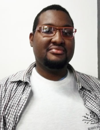 Image of Mario Boothe, a participant in the comprehensive sexuality education conference held in Panama.