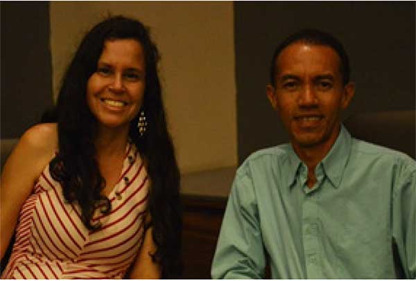 Image of Pastor Rolando Bermudez and wife