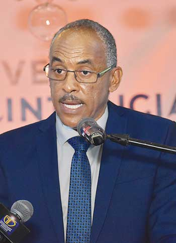 Image of Pinkley Francis, Chairman of the Board of Directors of Invest Saint Lucia.