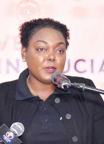 Image of Shirlyn Elliodore, Marketing Officer of Invest Saint Lucia.