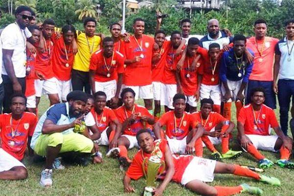 Image: Victory Eagles SLFA 2019 U17 football champions.(PHOTO: SLFA)