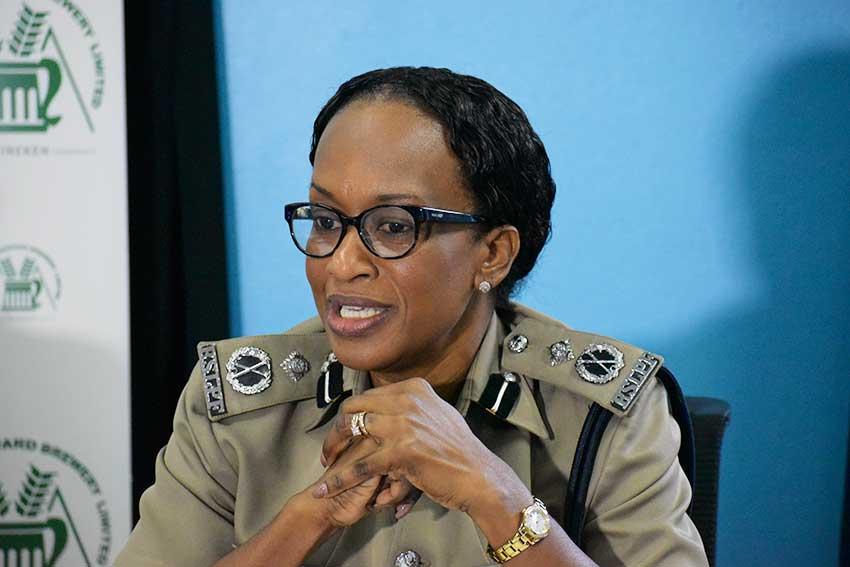 Image of Crusita Pelius, Assistant Commissioner of Police.