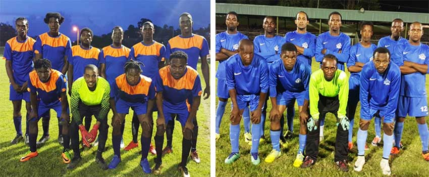 Image: (L-R) Today B1 takes on RV Juniors and Diamond Ballers play Knights FC. (PHOTO: SM)