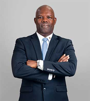 Image of Gordon Julien, Republic Bank Country Manager, St Lucia.