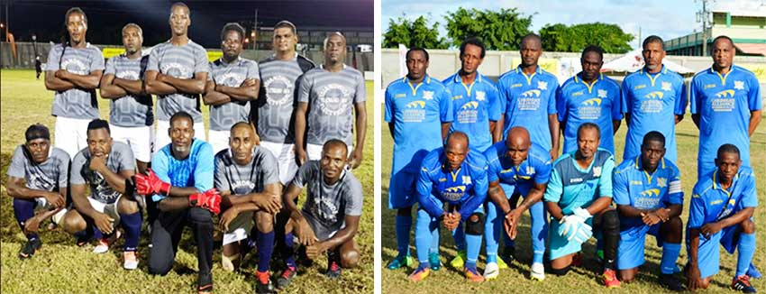 Image: (L-R) Mon Repos Sharks and Caricom Masters finally on the points table. (PHOTO: VISI/ Anthony De Beauville)