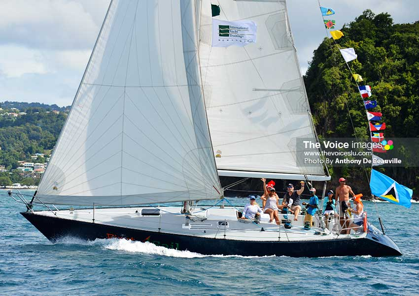 Image: One of the many participating boats (Photo: Anthony De Beauville)