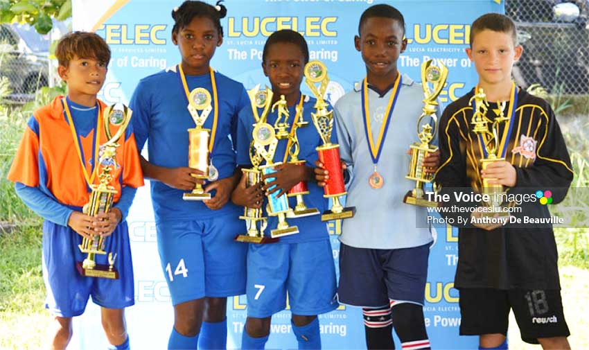 Image: Top winners in the Under 11 division. (PHOTO: Anthony De Beauville)