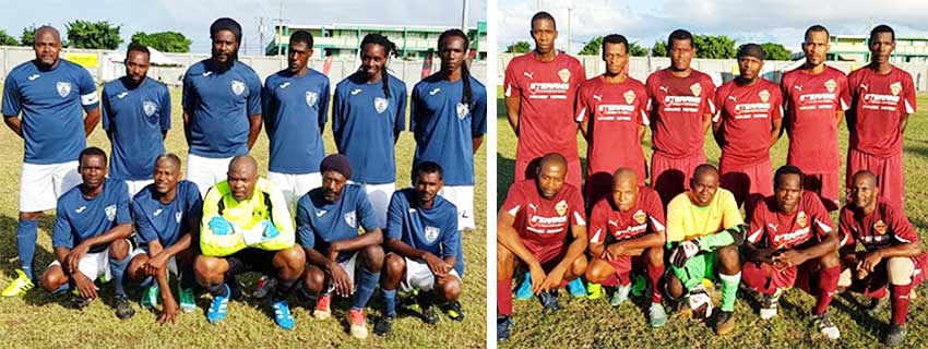 Image: Important clash between Valley Ledgens and Soufriere Veterans at 8.00 p.m. this evening.