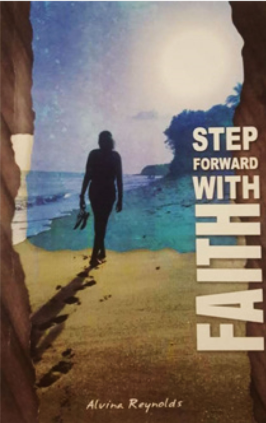 Image of cover of Step forward with faith by Alvina Reynolds