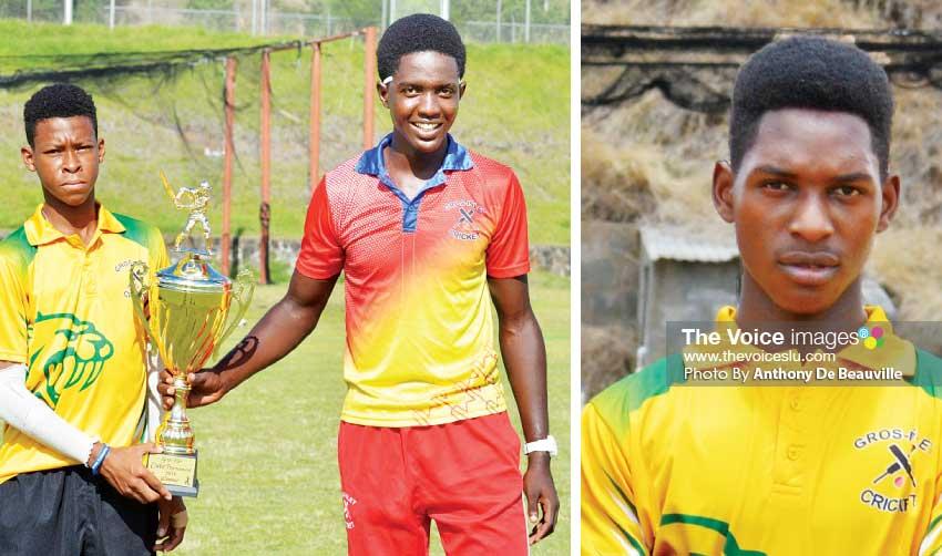 Image: (L-R)Junior male nominees Simeon Gerson; Kimani Melius and Lee Solomon. (Photo: Anthony De Beauville)