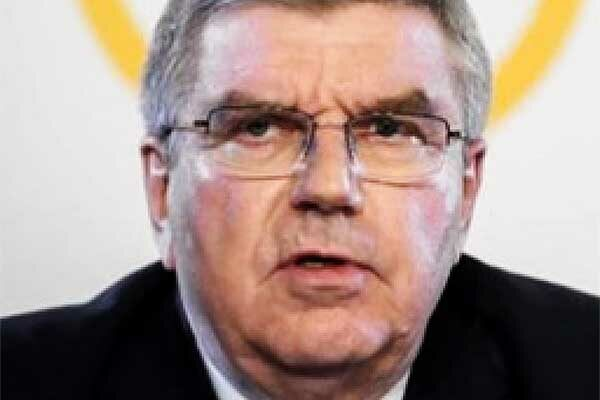 Image of IOC President, Thomas Bach.