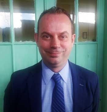 Image of UK Resident British Commissioner, Steve McCready.