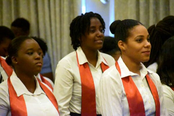Image: Some of the graduates of the Sandals Hospitality Training Programme.