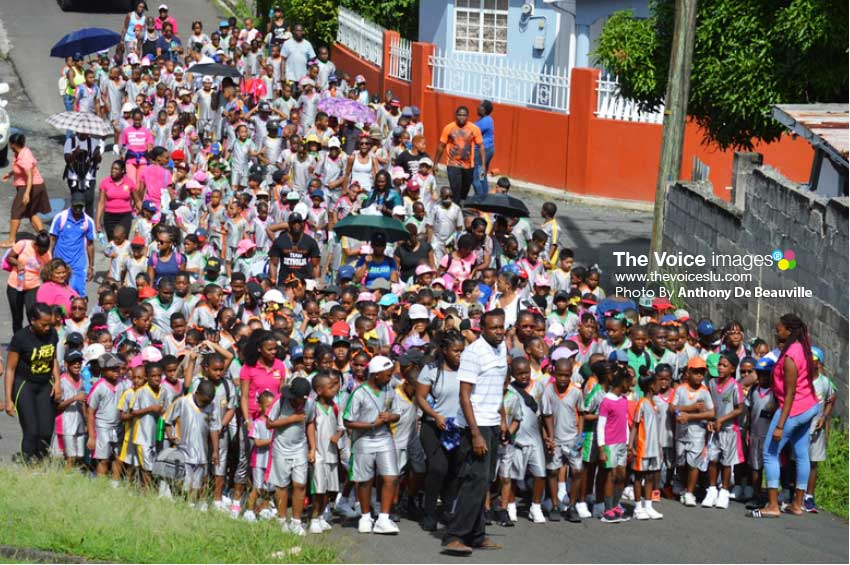 Image: A section of the massive crowd that chipped into San Souci. (Photo: Anthony De Beauville)