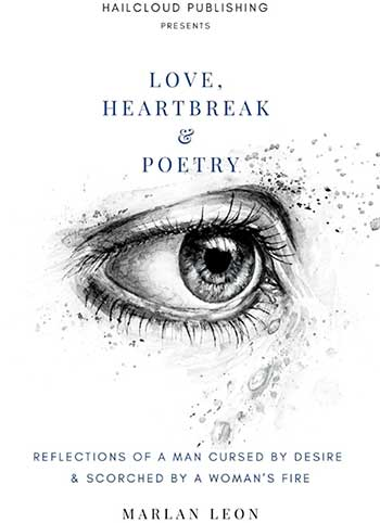Image of Cover page of Love, Heartbreak & Poetry by Marlan Leon.