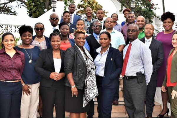 Image: Participants in the workshop on Talent Management for Competitive Advantage, hosted by the Caribbean Association of Banks Inc. in Antigua and Barbuda.