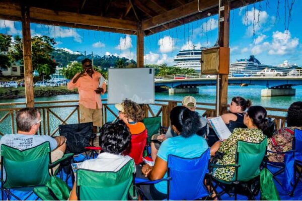 Image: Photography Master Class - Downtown Castries.