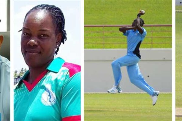 Image: SLNCA President Carol Henry will deliver his maiden speech tomorrow evening; Swayline Williams, Nerissa Crafton and Qiana Joseph will go head on for the Senior (female) Cricketer for the Year award. (Photo: Anthony De Beauville)