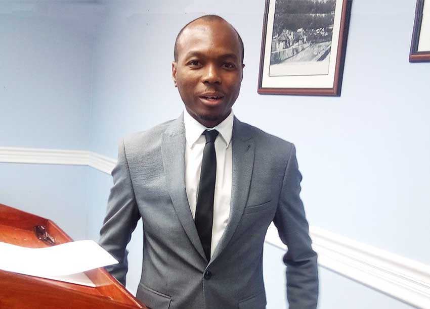 Image of Tourism Minister Dominic Fedee.