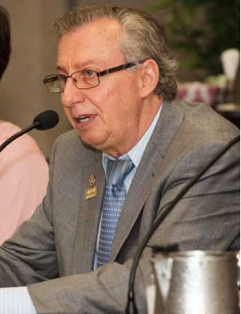 Image of CHTA's CEO and Director General Frank Comito.