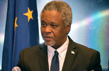 Image of Minister for Home Affairs, Justice and National Security Senator Honourable Hermangild Francis