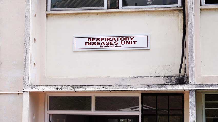 Image of Victoria Hospital Respiratory Disease Unit
