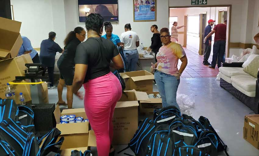 Image: Sandals staff across the region benefited from the resort brand's compassion in trying times.