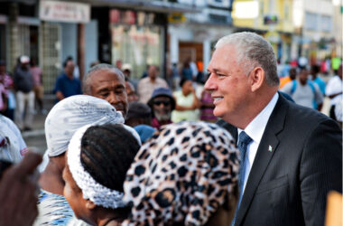 Image: Covid-19 has been a test for leaders around the world, Saint Lucia included. Pictured: Prime Minister Allen Chastanet.