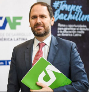 Image of Julián Suárez, Vice President of Sustainable Development at CAF.