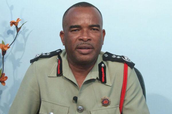 Image of Chief Fire Officer Mr. Joseph Joseph