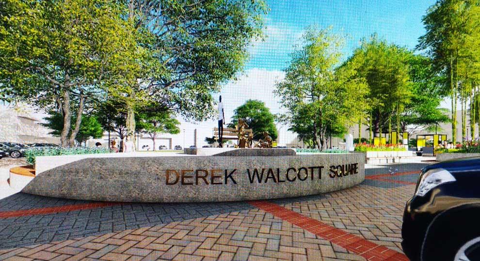 Image of Derek Walcott Square