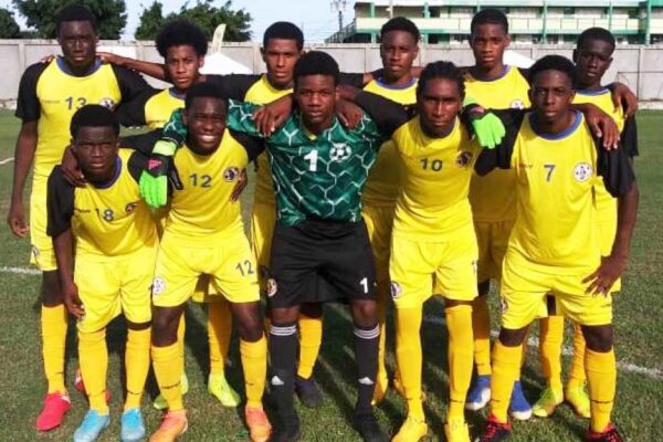 Image: National Under -17 defeated Laborie 3-1. (PHOTO: SM)