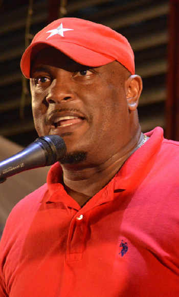 Image of Former Saint Lucia Minister for Youth Development and Sports, Shawn Edward.