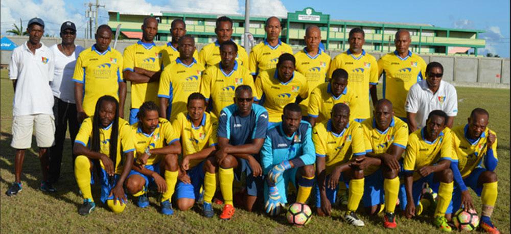 Image: Caricom Masters one big family. (PHOTO: Anthony De Beauville)