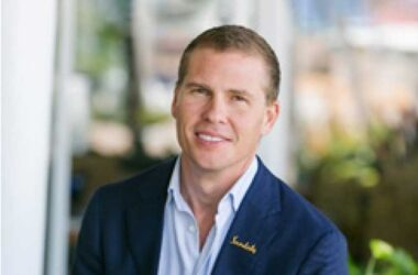 Image of Adam Stewart OD, easily steps into his father's shoes as the new Executive Chairman and CEO of the region's largest hotel group.
